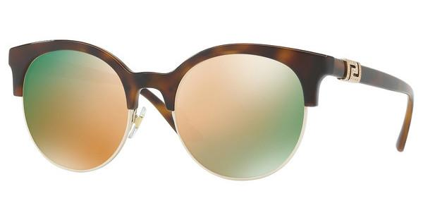 Versace   VE4326B 51484Z GREY MIRROR ROSE GOLDHAVANA/PALE GOLD