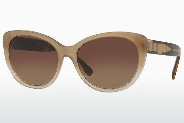 Burburry Plaid Sunglass//eye glass case Tan English