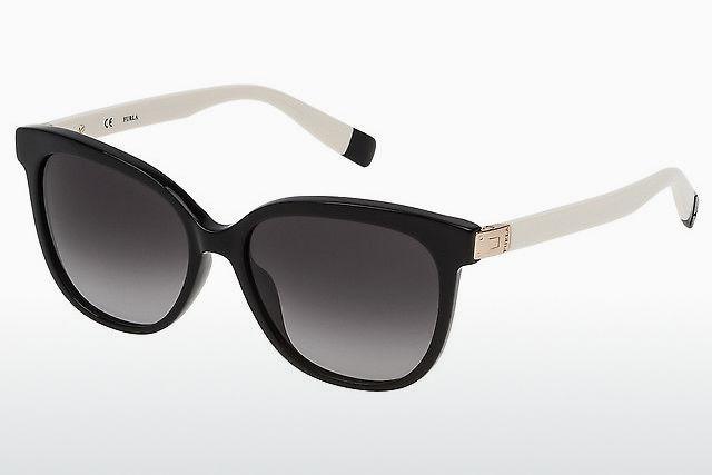 sol cristal Gafas para Furla Blanco mujer Gafas 44 de PXH1qF5