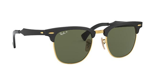 3fa8c40624c30 Ray-Ban CLUBMASTER ALUMINUM RB 3507 136 N5