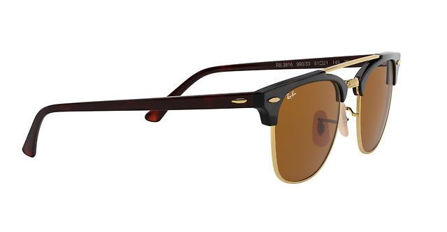 36ad422b77d Ray-Ban CLUBMASTER DOUBLEBRIDGE RB 3816 990 33